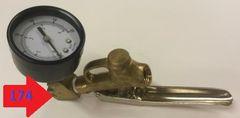 174 - Boom handle pressure gauge