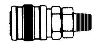 "214MB Series 2 Manual Coupler Body 1/4"" NPT (M)"