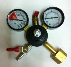 JO62KS -Chudnow Co2 Regulator, 60 PSI