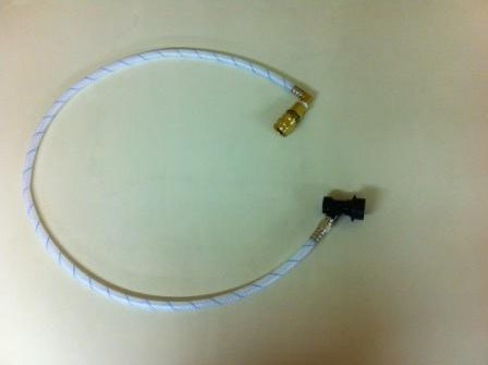 408B1 -3.5FT spray hose with beverage coupler and 90% elbow