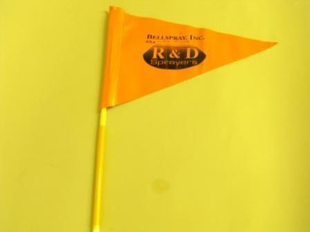 15943 - Fiberglass flag pole