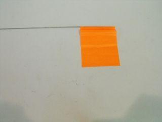 "33506 -Orange 15"" wire flags"
