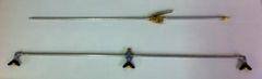 """Three Nozzle 1/8"""" AN Fitting Booms- 601D, 601D-QJ, 601D-QJ8360"""