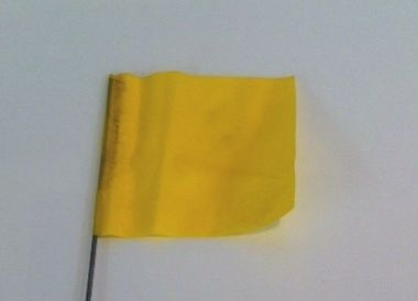 """39551 -100 Yellow 30"""" wire flags"""
