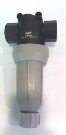 126ML-PP-3/4 - LINE STRAINER W/ FLUSH OUT & MOUNTING LUGS