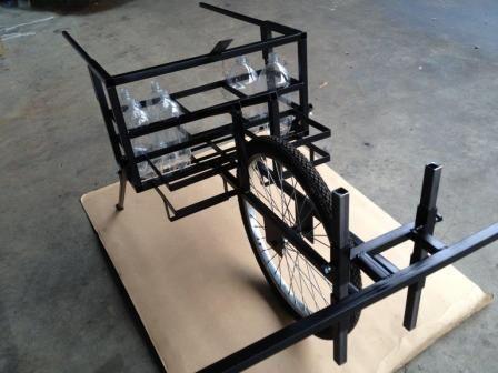 EX-FR -Frame & boom EX single wheel