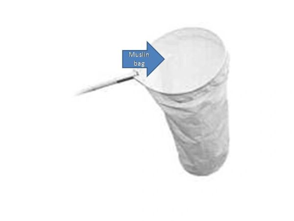 SWEEP BAG -replacement muslin bag