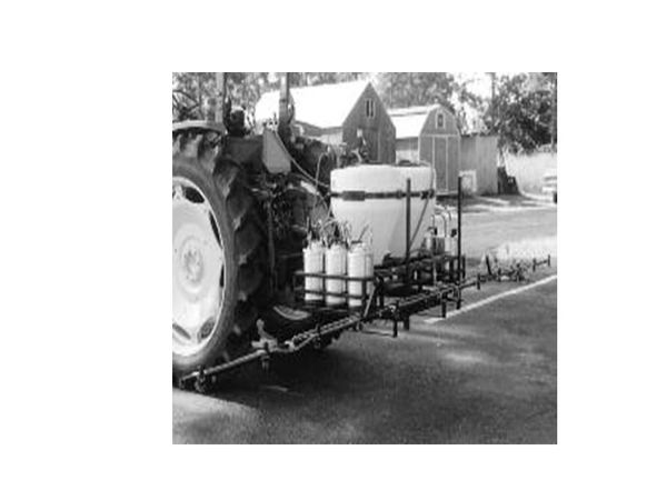 T-2-15-G -Three point sprayer with two 15gal. tank