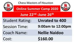 online Summer Camp for beginners June 22nd to June 26th, 2020