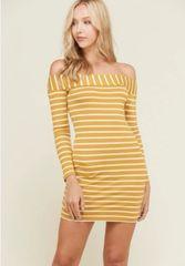 Sunshine striped dress