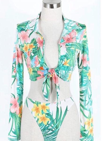 Rain forest bikini set