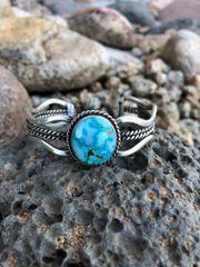 Turquoise Mountain Wave Style Bracelet