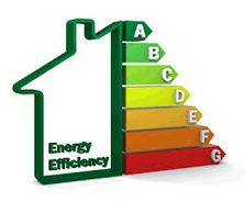energy efficiency logo showing A to G rating