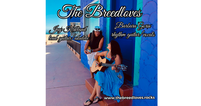 Endorsed Breedlove Guitar Artist Jay Kirkland and Barbara Anne Gorin, perform original acoustic music, and Jay's unique style playing the ukulele, captures all audiences attention
