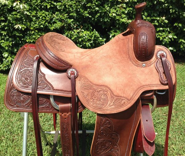 The Cow Horse Saddle