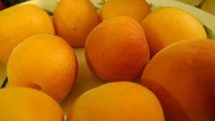 Apricots -Royal Blenheims, $3/lb
