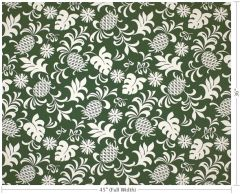 M'doridori Fabric Gift Wrap in Green Pineapple