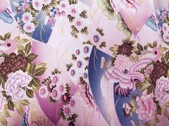 M'doridori Fabric Gift Wrap in Asian Lilac