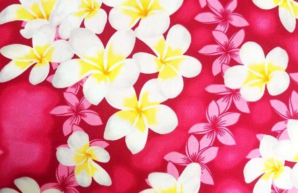 M'doridori Fabric Gift Wrap in Fuchsia Plumeria