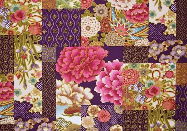 100% COTTON - GRAPE FLORAL - $5.50 PER YARD