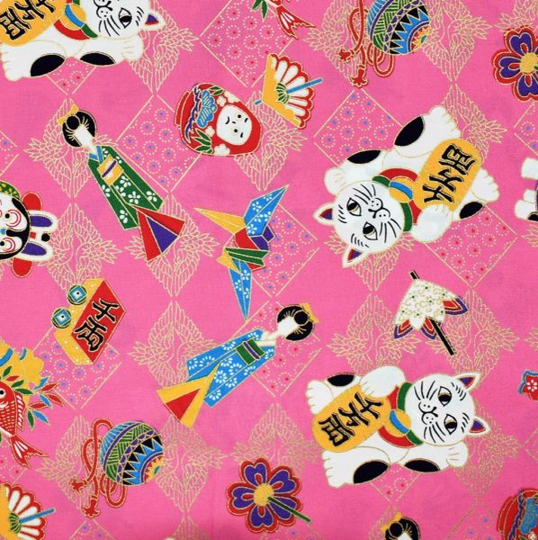 M'doridori Fabric Gift Wrap in Pink Toys