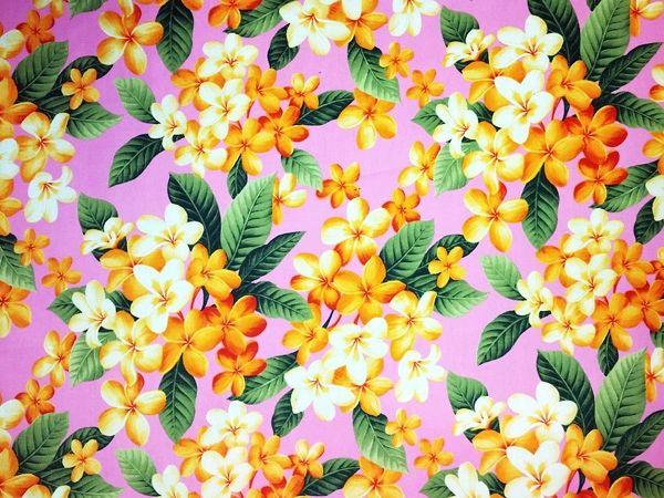 M'doridori Fabric Gift Wrap in Pink Plumeria