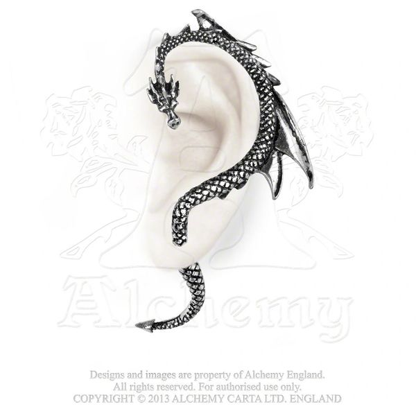E274 - The Dragon's Lure Ear Wrap