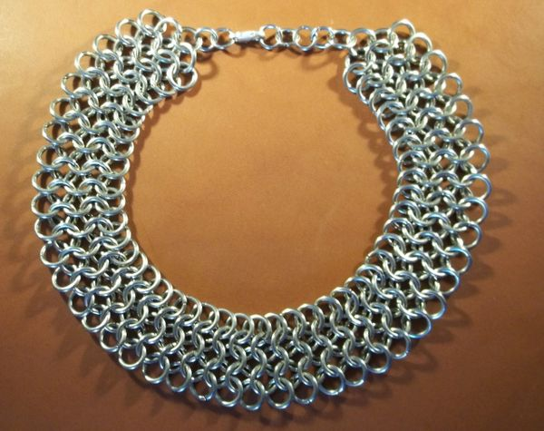 Stainless Steel chainmail necklace