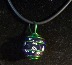 Colorful Dice Cage Necklace