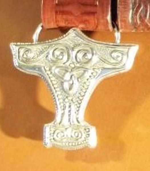 Mjolnir Thor's Hammer Trophy Buckle