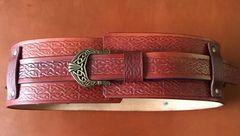 """4"""" Wide Celtic Belt"""
