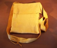 Soft Deerskin Shoulder Bag