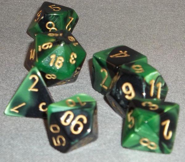 Chessex Gemini Polyhedral 7-Die set