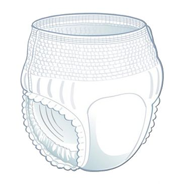 Quittance Pull Up Adult Diaper (pant style)