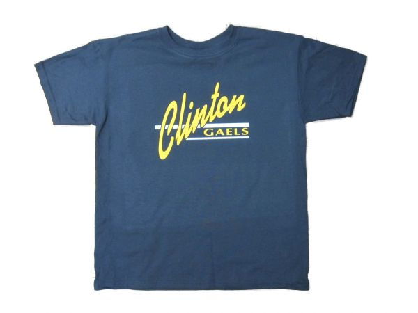 Clinton T-Shirt Gold/White