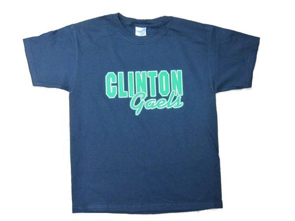 Clinton T-Shirt Green/White