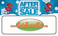 After Christmas Sale Employee Name Tags (40 pack)