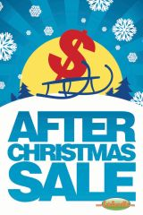 After Christmas Sale Mini Poster (20 pack)