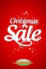 Christmas Sale Glossy Poster