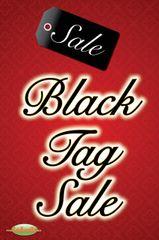 Black Tag Sale Mini Poster (20 pack)