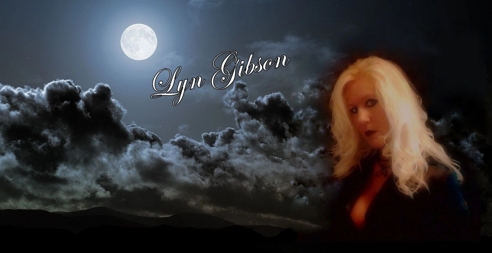 Lyn Gibson, Author of horror novels, blogger of urban legends and haunted history.