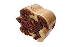 Snapping Turtle Tribal Art Puzzle Box