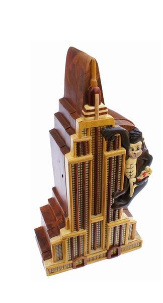 King Kong Wooden Secret Puzzle Box