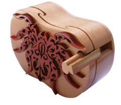 Taranchula Spider Tribal Art Puzzle Box