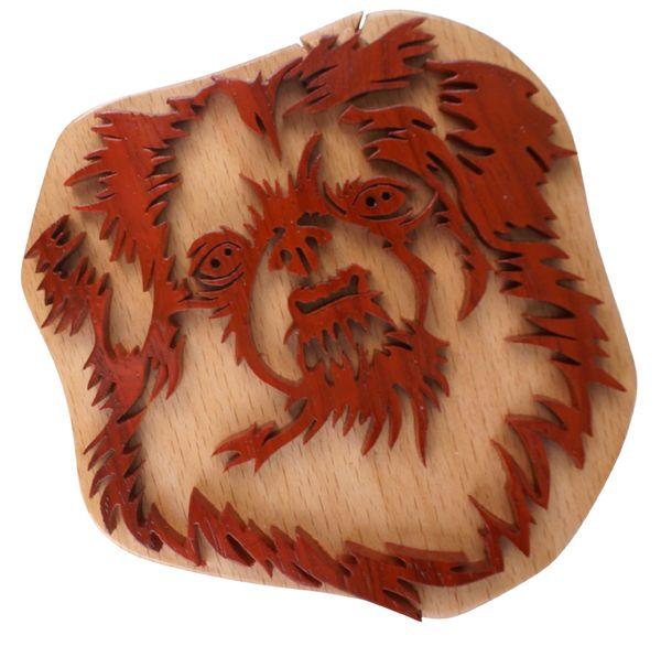 Shih Tzu Dog Wooden Secret Puzzle Box