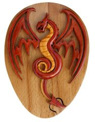 Red Dragon Secret Puzzle Box