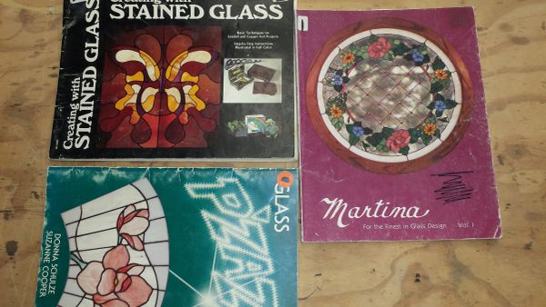 Stained Glass Books- Glass Pizazz, Martina, Creating with Stained Glass