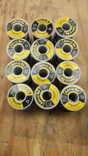 Dutch Boy wire solder, 60/40