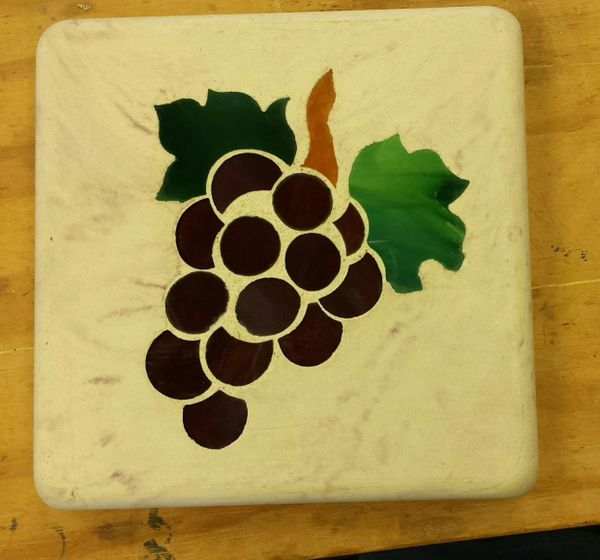 Stepping stone, grape cluster