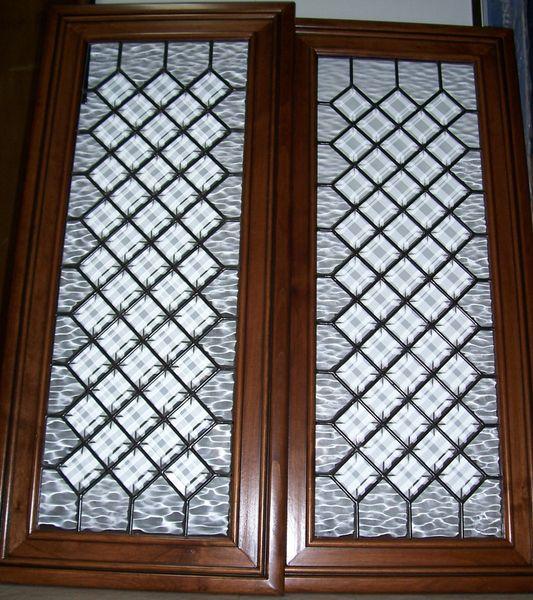 Cabinet doors, bevels